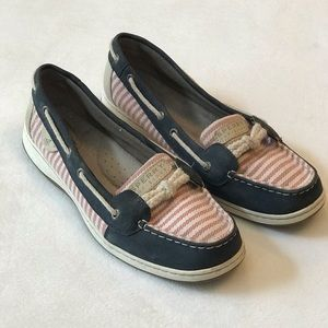 Speedy Top Sider Nautical Theme Loafers Size 11